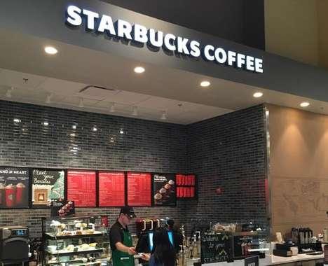Grocery Store Coffee Kiosks