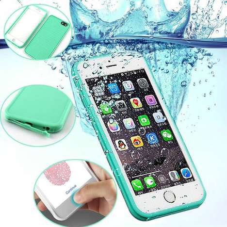 Waterproof Smartphone Photography Cases - The Immortal Waterproof iPhone Cases are Lightweight