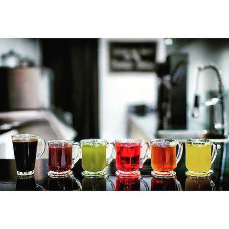 Vacuum-Sealed Tea Cafes - Infuse Cafe Offers Traditional Beverages Made with Leading Technology