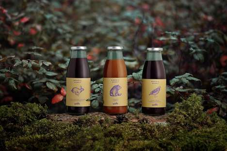 Mashed Berry Beverages - 'Nordic Berry' Offers Drinks Made from Berries Found in Northern Regions