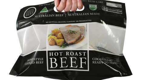 Ready-to-Eat Beef Dinners - Woolworths is Selling Hot Roast Beef in Convenient Grab-and-Go Bags