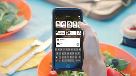 Photo App Search Extensions - The New Snapchat Search Feature Makes the App Easier to Navigate