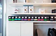Color-Coded Coffee Merchandising