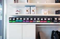 Madcap Coffee's Displays Spotlight Polychromatic Packaging