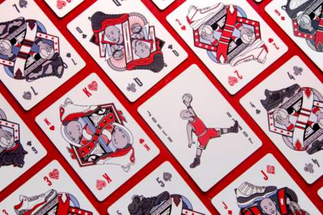 Basketball-Themed Playing Cards - 'Flight Cards' Were Designed in Honor of Michael Jordan