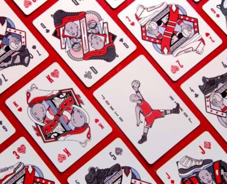 Basketball-Themed Playing Cards