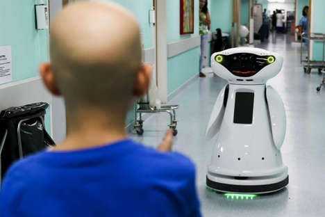 Educational Healthcare Social Robots - The 'MOnarCH' Robot Provides Edutainment in Hospitals
