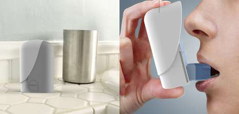 Upright Inhaler Protectors - The 'Zephyr' Asthma Inhaler Case Protects Against Germs