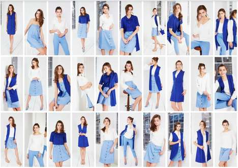Maximally Minimal Fashion Collections - 'Honest-Rosie' Offers 30 Unique Outfits from Six Pieces