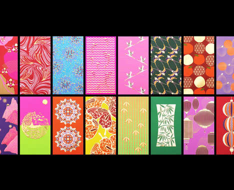 Element-Themed Chinese Envelopes
