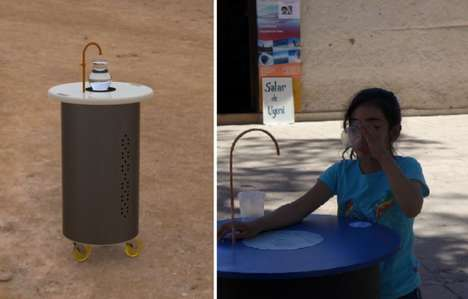 Air Humidity Water Machines - The 'FreshWater' Drinking Water Machine Creates Water from Thin Air