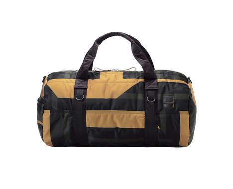 Durable Color-Blocked Bags