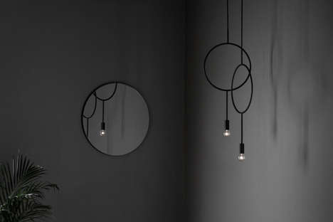 Circular Minimal Chandeliers - This Chandelier Design Suits Most Contemporary Homes