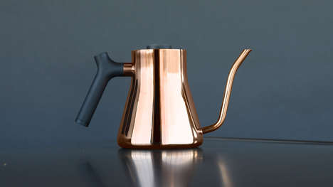 Sleek Connected Kettles - Fellow's Stagg EKG Kettle Combines Minimal Design with Maximal Function