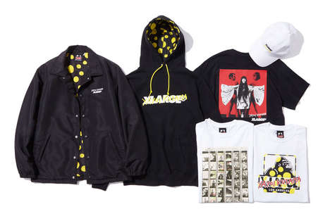 Unisex Artist-Designed Apparel - The New XLarge Capsule Collection Features Art from Yayoi Kusama