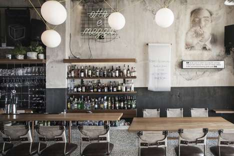 Rustic Jazz Bars - This Bar Combines Classic Greek Designs With More Contemporary Ones