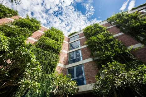 Vegetation-Covered Hotels - The Atlas Hotel Is Almost Completely Covered in Plant Life