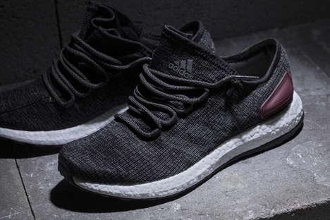 Versatile Sock-Fit Runners - The New adidas PureBOOST Features a Stylishly Minimalist Design