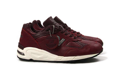 Premium American Leather Sneakers - New Balance and Horween Joined to Adapt the 990v2 Silhouette