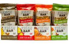'Fresh Bar' is a Chilled Granola Bar Made from Fruit, Oats and Nuts