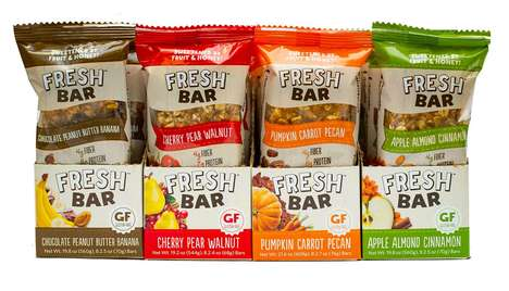 Refrigerated Snack Bars - 'Fresh Bar' is a Chilled Granola Bar Made from Fruit, Oats and Nuts