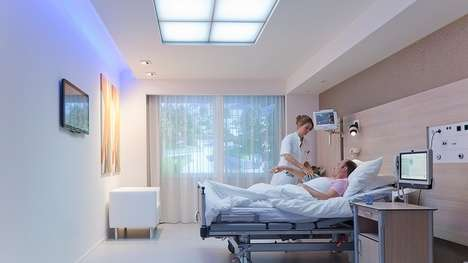 Patient Lighting Solutions - Hospital Light System HealWell Improves the Wellbeing of Patients