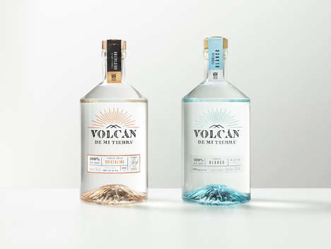 Super-Premium Tequila Collections - 'Volcan de mi Tierra' Tequila is Grown from Volcanic Soil
