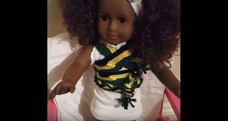 Talking Jamaican Dolls - Toya is a Zuree Doll That Speaks in Jamaican Patois
