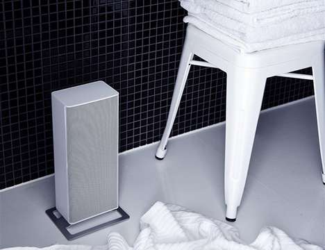 Cubic Designer Space Heaters - The Stadler Form Anna Fan Heater is a Slim and Discreet Appliance