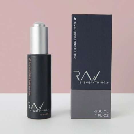 Single-Ingredient Facial Oils - 'Raw Is Everything's Face Care Oils Celebrate Simple Ingredients