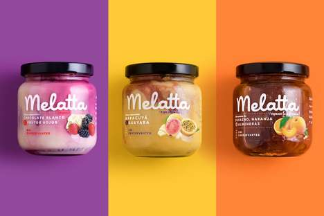 Creamy Jam Collections - Melatta's Jams Offer Spreads That are Both Fruity and Creamy