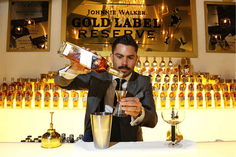 Premium Blended Whiskeys - Johnnie Walker Gold Reserve is Reviving the Prestige of Blended Spirits