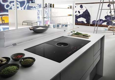 Hoodless Countertop Ranges - The Elica 'NikolaTesla' Range Packs Induction Technology