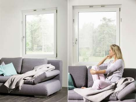 Air-Cycling Windows - The Rehau 'Geneo Inovent' Ventilation Window Pushes Air Out and In