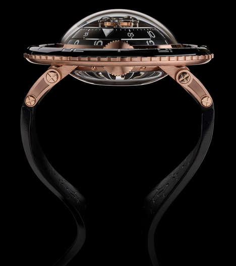 Aquatic Luxury Watches - MB & F's Horological Machine No. 7 is Styled After Diving Watches