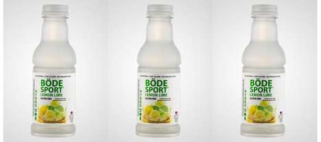 Vitamin-Enriched Hydration Drinks - The Hydro One BÖDE Sport Lemon Lime Drink Helps Restore Energy