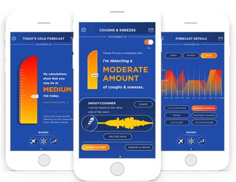 Risk-Assessing Illness Apps - The ColdSense App Monitors Users' Surroundings to Prevent Colds