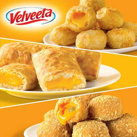 Frozen Grilled Cheese Turnovers - Velveeta's Stuffed Grilled Cheese Snacks are Microwave-Friendly