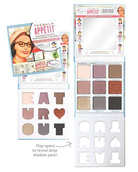 Foodie-Inspired Eyeshadow Palettes - theBalm's Eyeshadow Color Palette Features Mouthwatering Hues