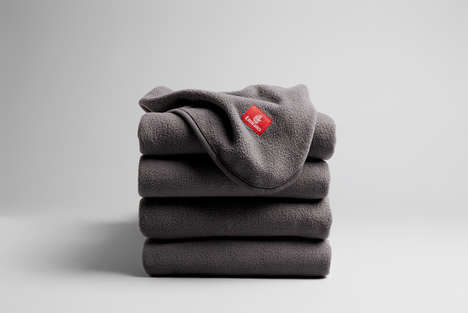 Sustainable Airplane Blankets - Emirates' ecoTHREAD Blankets are Made of Recycled Plastic Bottles