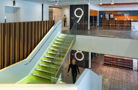 Accessibility-Focused Offices - Deloitte Montreal Was Creatively Adapted to Be More Efficient