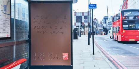 Confectionery Braille Billboards - Maltesers' World Braille Day Ad Normalizes Disability in Ads