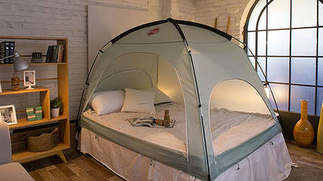 Warming Winter Indoor Tents - The DDASUMI Bed Tents are for Indoor Use to Increase Warmth
