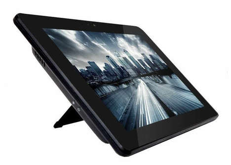 In-Store Kiosk Tablets - The AOPEN Chromebase Mini Chrome OS Tablet is for the Retail Market
