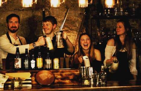 Medieval Series-Themed Bars - The Pop-Up Geeks Created a Game of Thrones Bar in Edinburgh, Scotland