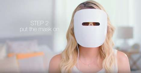 Acne-Eliminating Light Masks - Neutrogena's Light Therapy Acne Mask Combines is Free of Chemicals