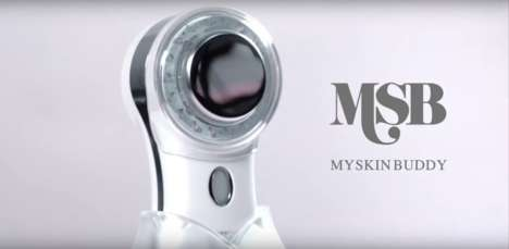 Rejuvinating Facial Cleansers - 'My Skin Buddy' Uses LED Light Therapy to Soothe and Heal the Skin
