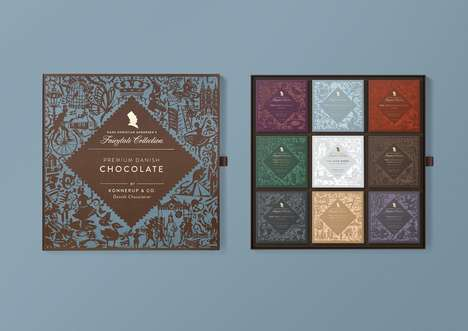Fairy Tale-Themed Chocolates - Konnerup Was Inspired by a Famed Author for This Chocolate Collection