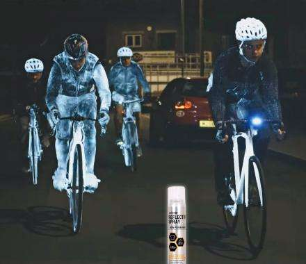 Reflective Cyclist Sprays - The Albedo 100 Reflective Spray Ensures Optimal Visibility at Night