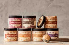 Rustic Italian Gelato Jars - These Natural Gelatos Were Inspired by Their Italian Counterparts